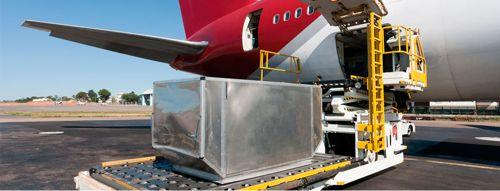 transporte aéreo de alimentos