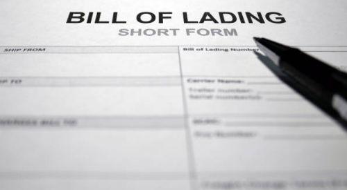 Funciones del Bill Of Lading o Cnocimiento de embarque