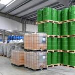 Seguridad en un almacén de productos químicos