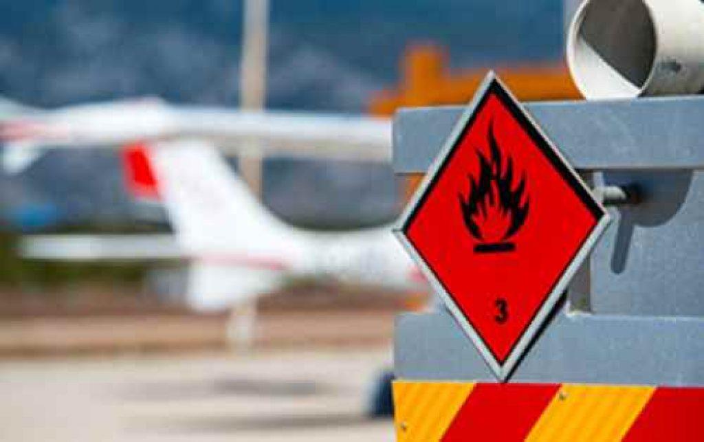 Reglas para el transporte de mercancías peligrosas por vía aérea