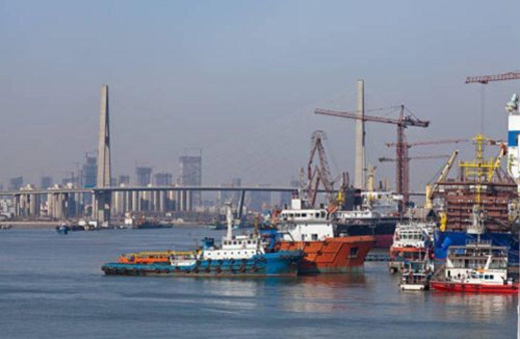 puerto marítimo de Tianjin