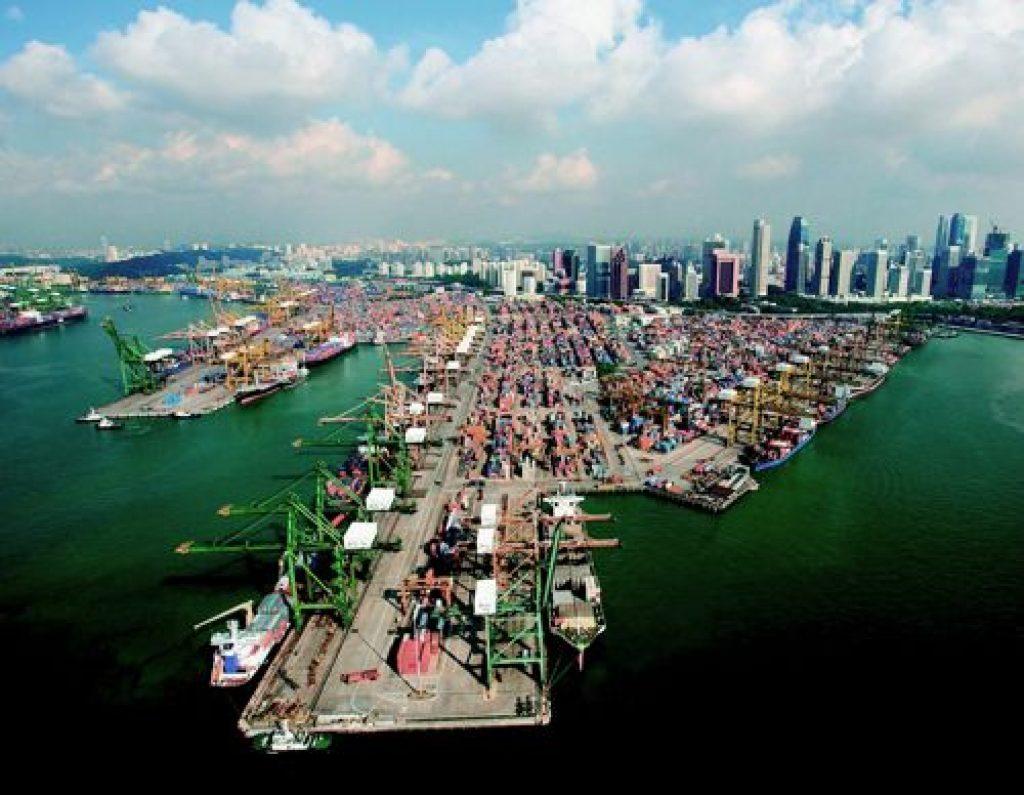 Puerto marítimo de Singapur