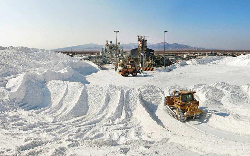 produccion de litio en Chile