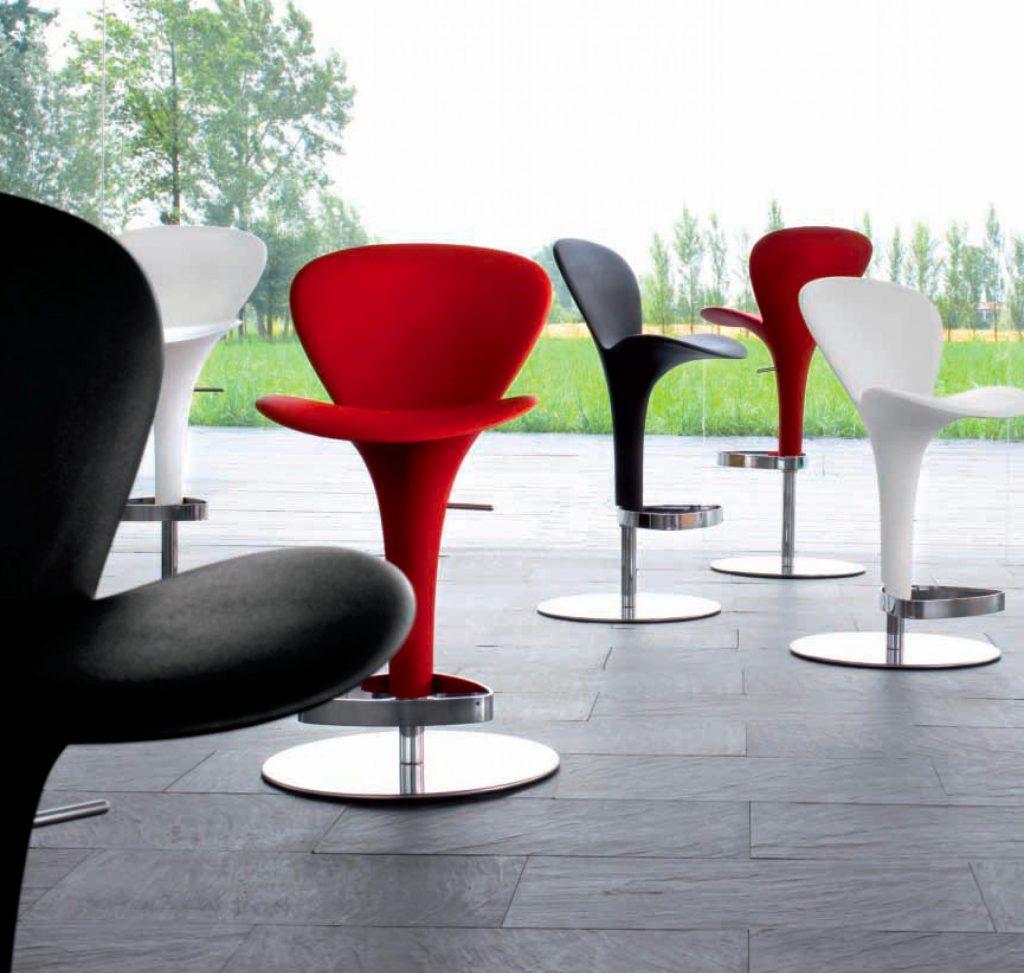 sillas originales giratorias