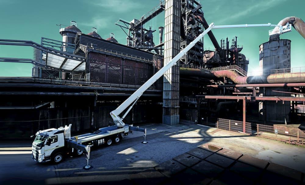 plataformas elevadoras de trabajo