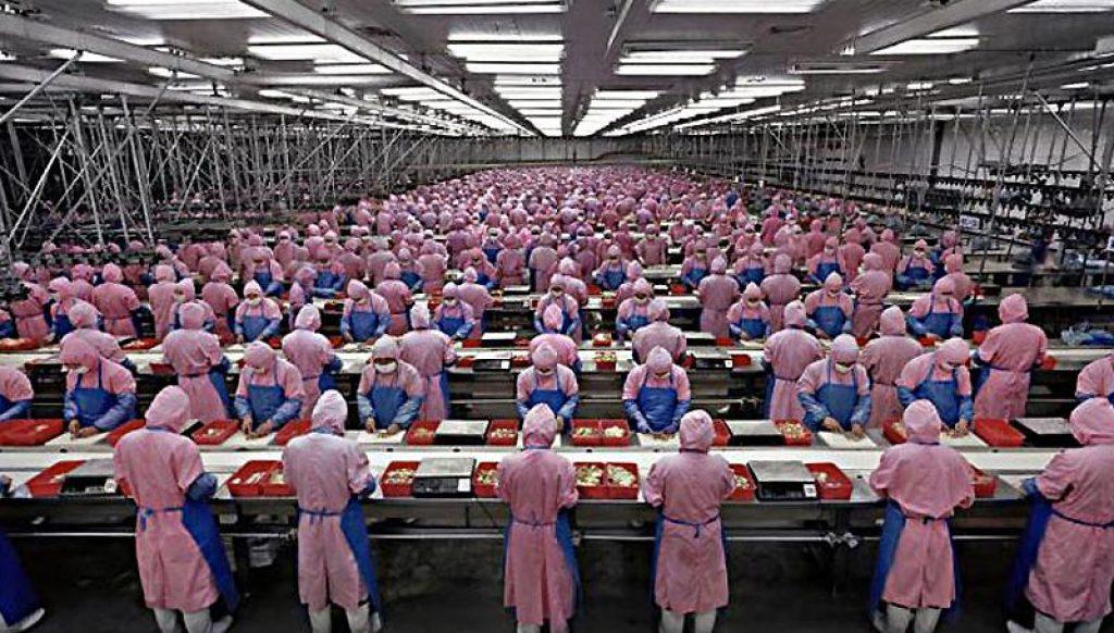 montaje de iphone en China