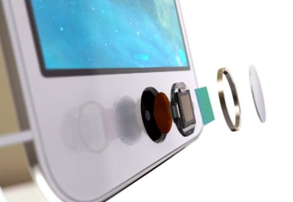 escaner de huellas dactilares iphone
