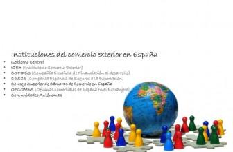 Instituciones del comercio exterior en España