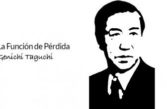 La función de pérdida de Genichi Taguchi