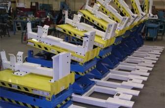 Mesa elevadora para los sectores industriales