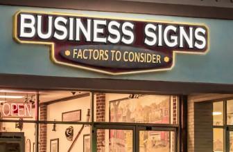 Rótulos, la clave del éxito para un negocio