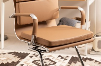 silla oficina ergonómica sin ruedas